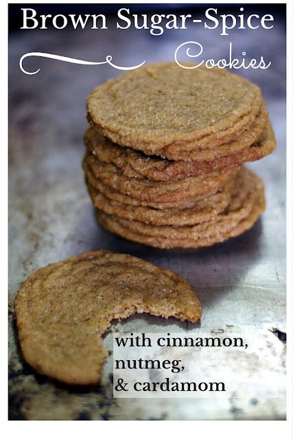 Brown sugar spice cookie recipe