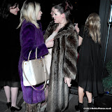 WWW.ENTSIMAGES.COM -    Fifi Geldof saying goodbye to her sister Tiger Lily at  her 30th birthday party   JuJu, 316–318 King's Road, London, SW3 5UH, March 30th 2013                                                       Photo Mobis Photos/OIC 0203 174 1069