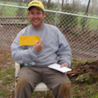 Dave gets a restaurant gift certificate in appreciation for the use of his electricity and water during the project.