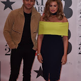 OIC - ENTSIMAGES.COM - Mark Wright and Jessica Wright at the  The BRIT Awards 2016 (BRITs) in London 24th February 2016.  Raymond Weil's  Official Watch and  Timing Partner for the BRIT Awards. Photo Mobis Photos/OIC 0203 174 1069