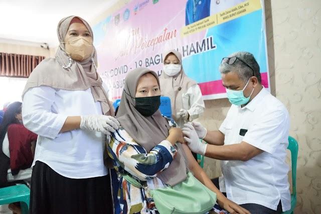 3.987  Ibu  Hamil  Di  Kabupaten Asahan  Akan  Di  Vaksin,  Berikut Penjelasannya
