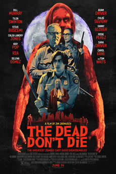 capa Os Mortos Não Morrem
