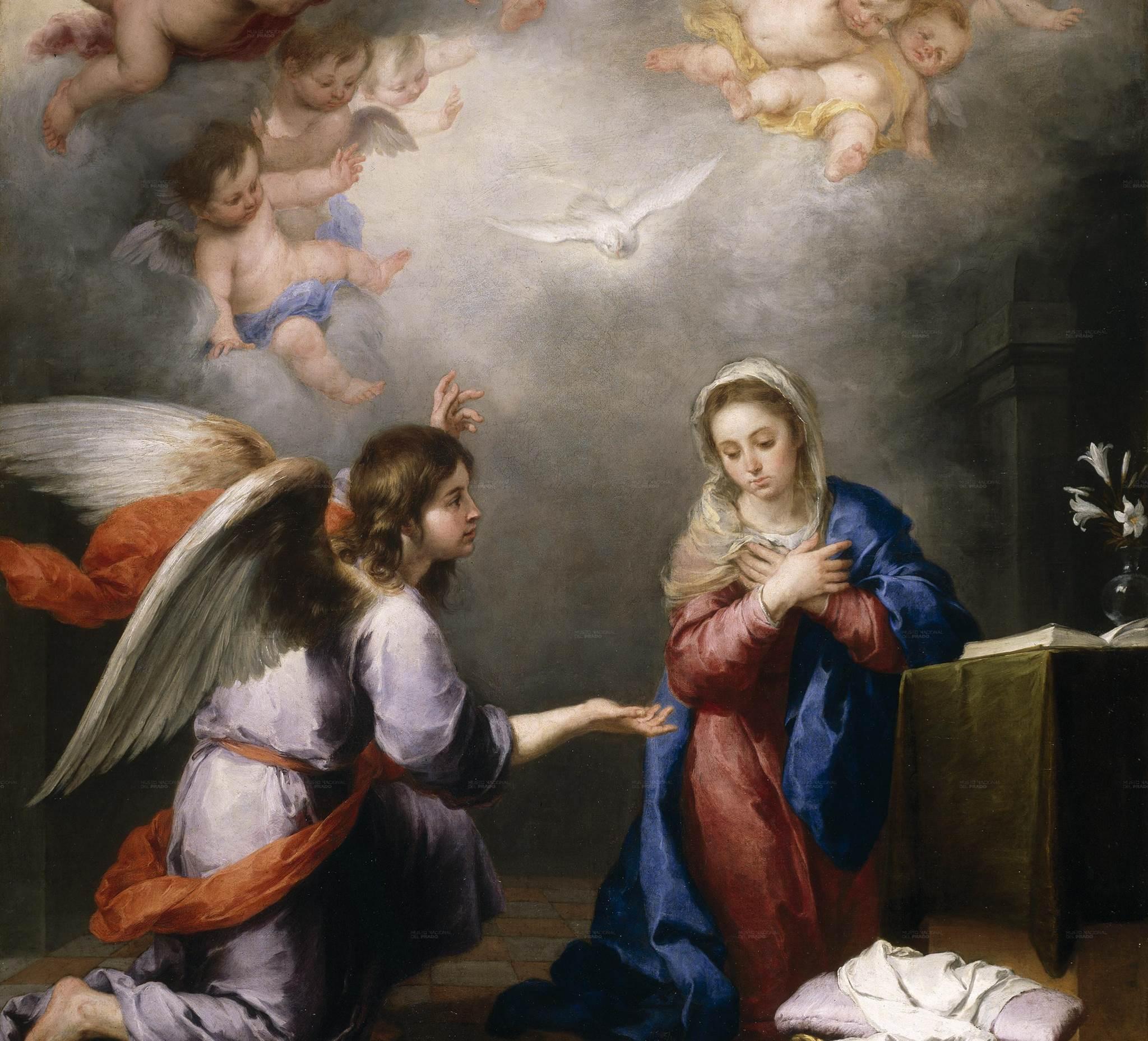 Tôi là nữ tỳ của Chúa (25.3.2021 – Thứ Năm – Lễ Truyền Tin. Lễ trọng)
