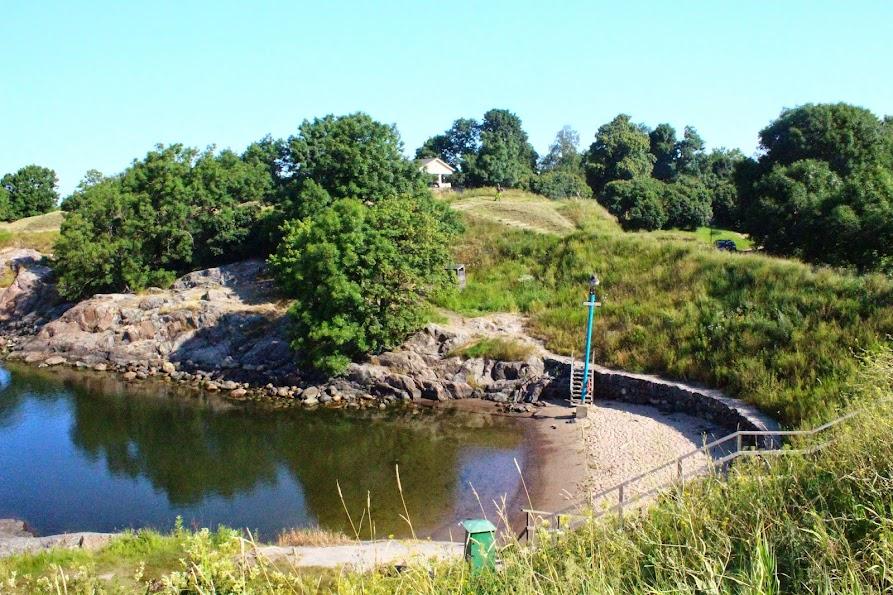 suomenlinna finland swimming
