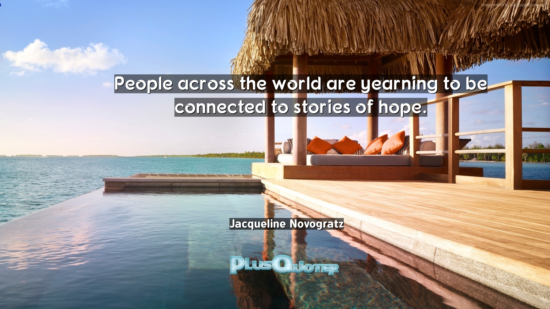 People across the world are yearning to be connected to stories of ...