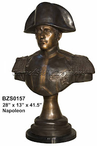 Bronze, Bust, Napoleon, Statue