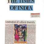 Article in NIE Times - Rakshabandhan Celebration