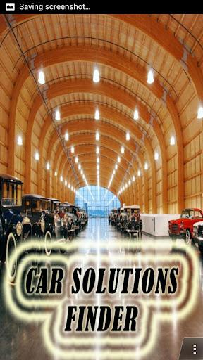 Car Solutions Finder