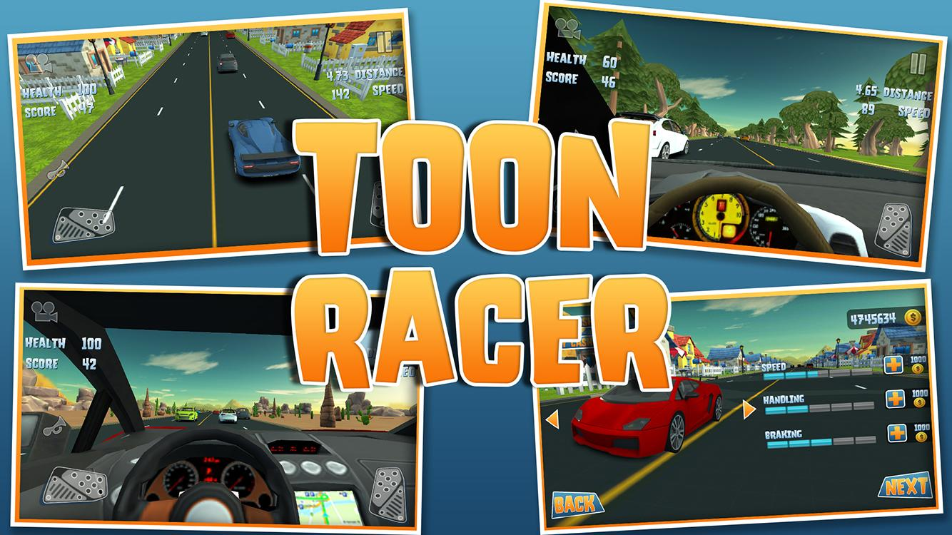 Toon Racer 2- screenshot