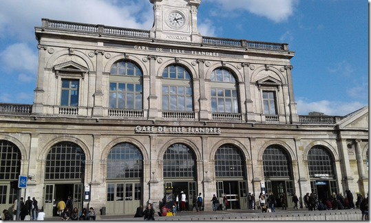 Train Station - Lille Flanders (2)