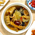 How to cook Sea Cucumber Fish Maw herbal soup that nourishes 'yin' in women?