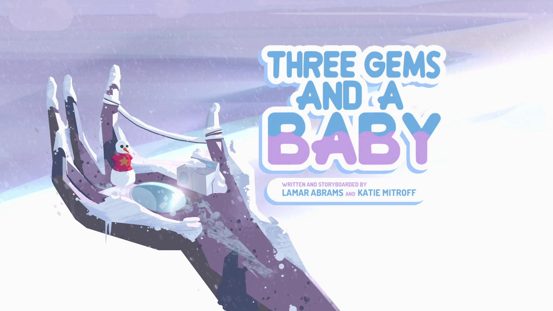 Steven Universo - Três Gems e um Bebê