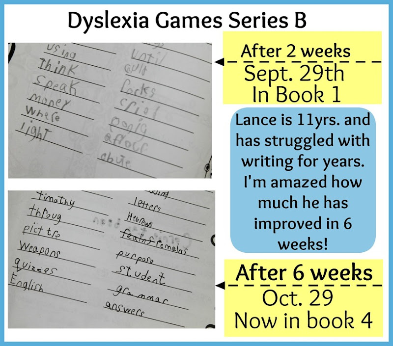 Dyslexia Games Improvement