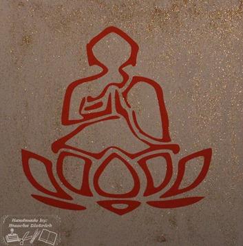 Boedha met lotus 3