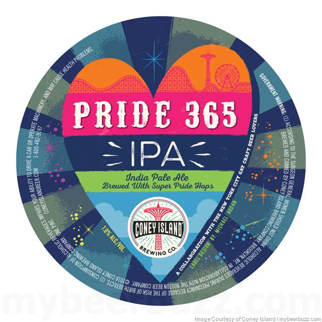 Coney Island - Pride 365 IPA w/Super Pride Hops