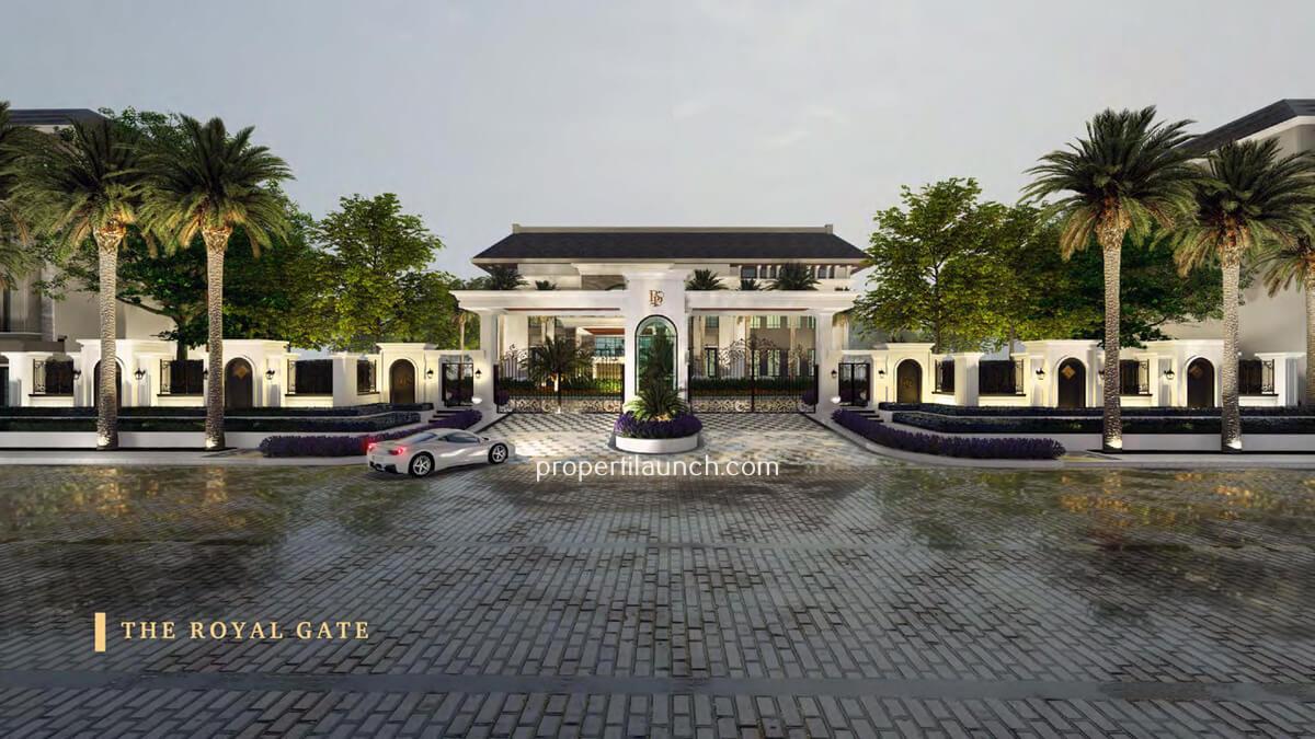 Gate Bukit Podomoro Jakarta