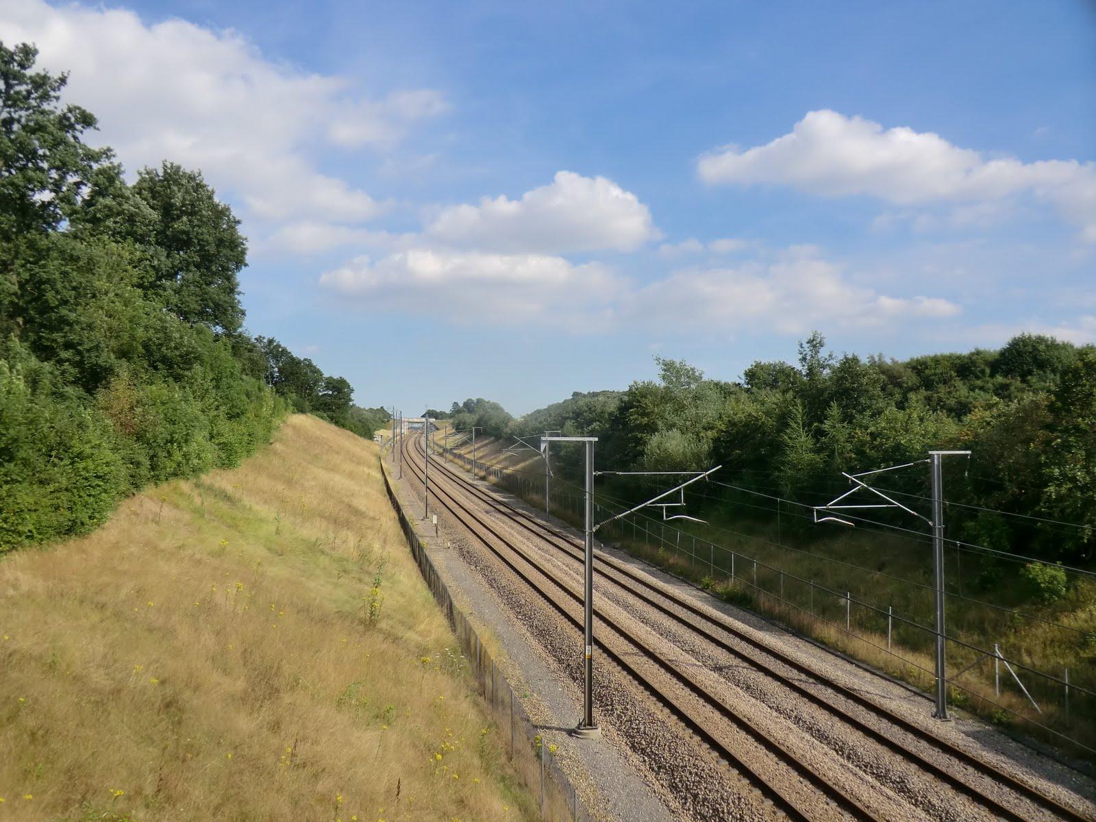 CIMG3010 Crossing the high-speed railway