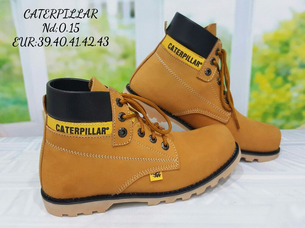 Safety Shoes Caterpillar Batam - Style Guru: Fashion ...