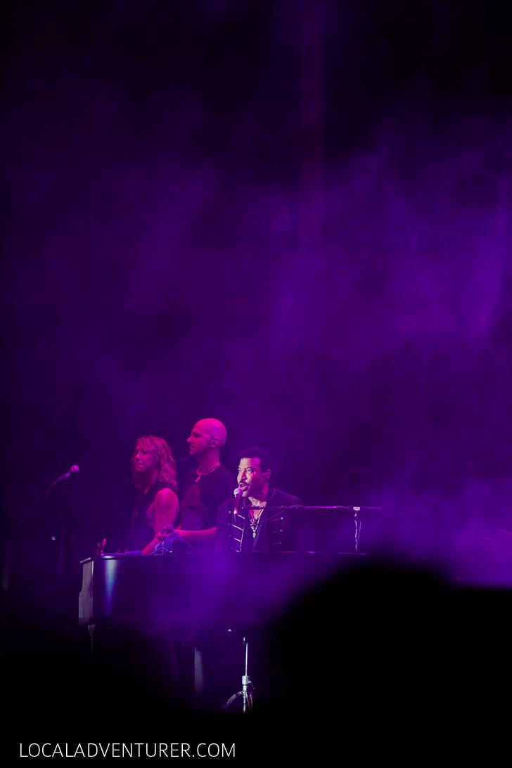 Lionel Richie Las Vegas.