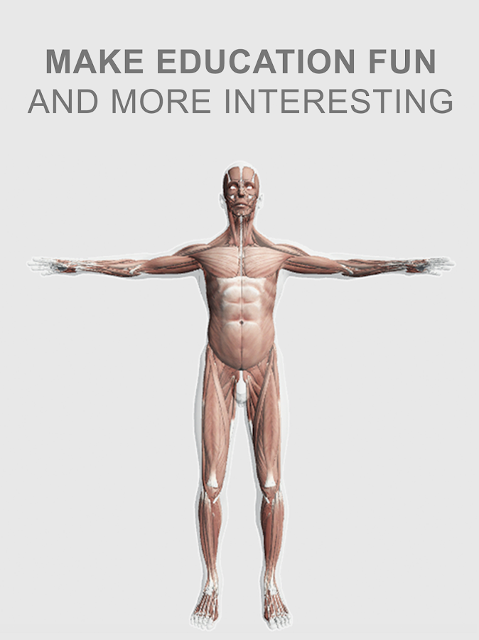Explain 3D: Human body anatomy- screenshot