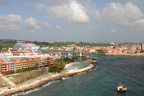 View of Willemstad, Curaçao