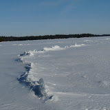 Ice ridges - Big Gull L. Kaladar