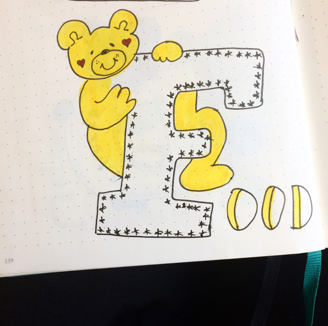#100DaysOfDoodles   Day 30   What is your favorite word starting with Letter F?   The 100 Day Project