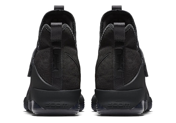 Nike LeBron 14 Triple Black Official Release Date