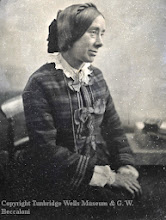 """Photo: Wallace's sister Frances (""""Fanny""""). From a photograph in the Tunbridge Wells Museum, Kent. Copyright Tunbridge Wells Museum & George Beccaloni."""