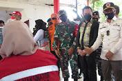 Gelar Vaksinasi, KODIM 1412 Kolaka Gandeng Perempuan Jenggala dan PT Olam Indonesia
