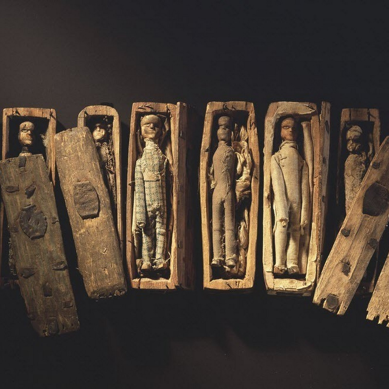 The Miniature Coffins of Arthur's Seat