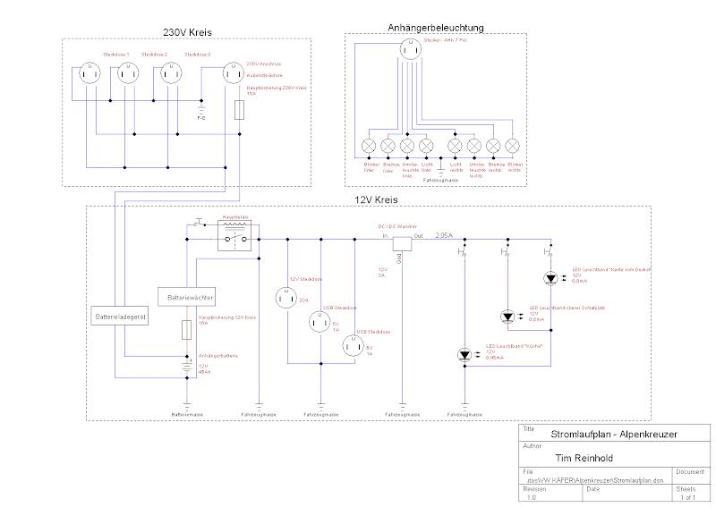 Opel Vivaro Stromlaufplan
