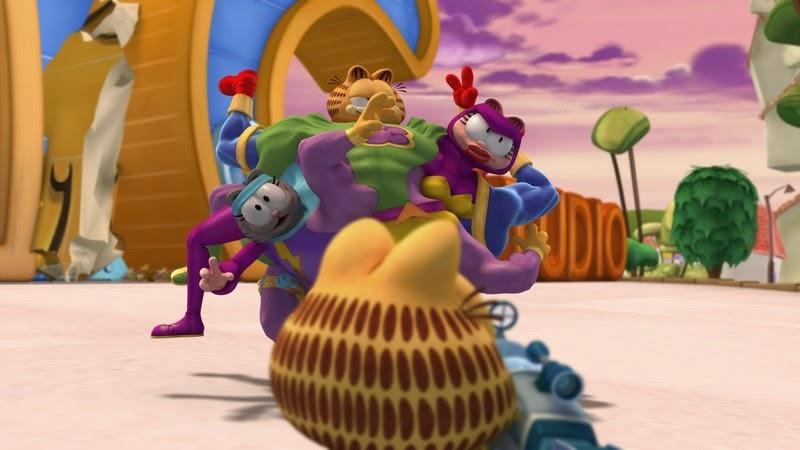 Fotograma: Garfield y su pandilla (2009)