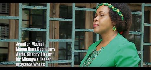VIDEO | Jennifer Mgendi - Mungu Hana Secretary | Download Mp4
