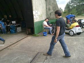 Photo: entry to hacker-hangar