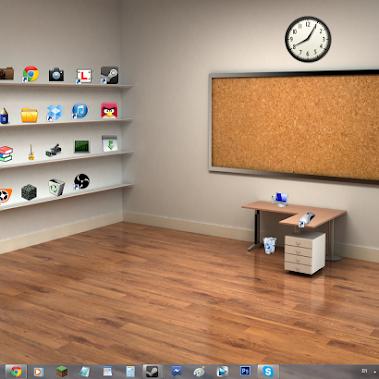 Et si vous rangiez votre bureau comme un vrai bureau for Bureau fond d ecran
