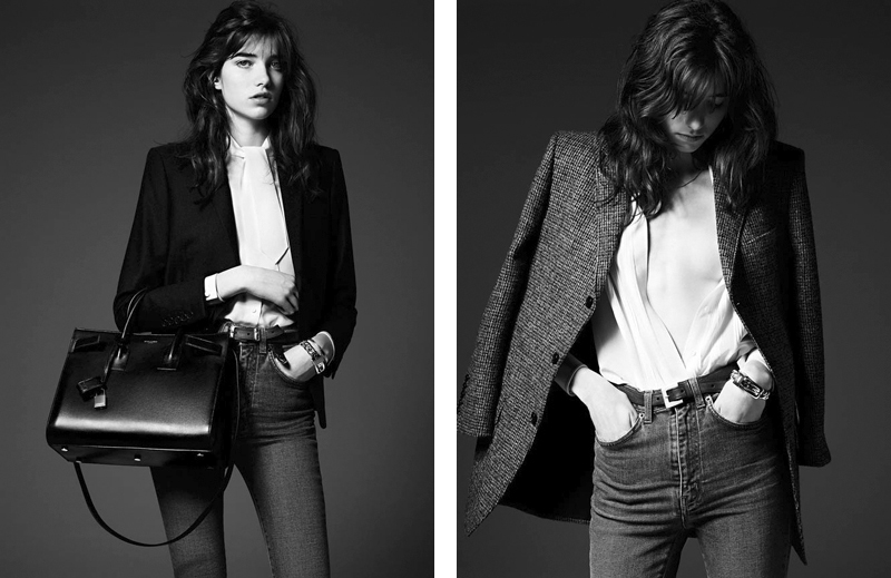 Grace Hartzel, Saint Laurent Pre-fall Lookbook