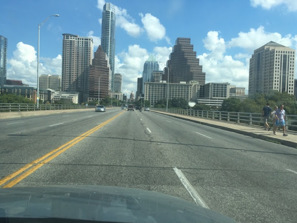 Recapping the weekend visiting my old stomping grounds of Austin