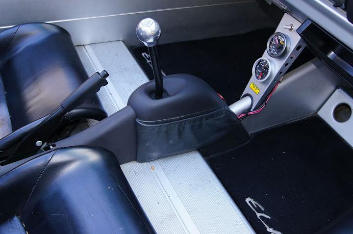 Console centrale Lotus Elise S1