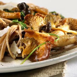 Chanterelle and Parmesan Pasta