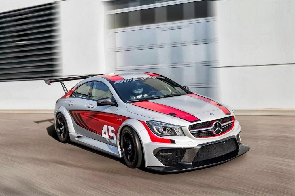 Mercedes Benz CLA 45 AMG Racer 1