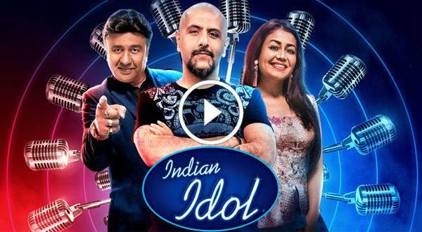 Poster Of Indian Idol 12th October 2019 Watch Online Free Download