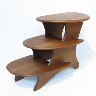 Steven Spiro Signed Tiered Table