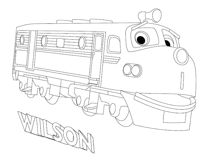 Wilson (Chuggington) Coloring Page
