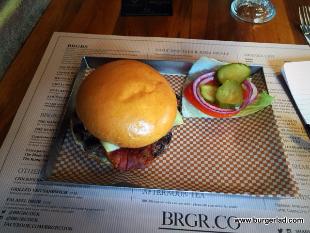 BRGR Co. Bacon and Cheese BRGR