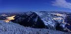 SAINT CLAUDE ET SEPTMONCEL   depuis le belvédère de la Cernaise, sur la route des Molunes (39) - Panoramique 3 images