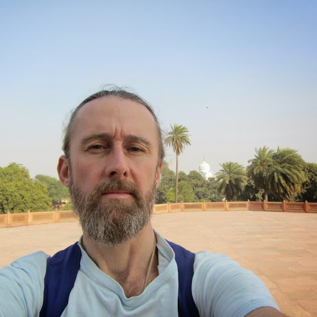 Self, from Humayun's Tomb, Delhi