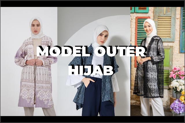 Model Outer Hijab: Outfit Remaja Kekinian nan Modis
