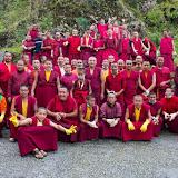 2016年6月5日蔣貢康楚仁波切印度拉瓦噶舉德千林寺於世界環境日淨山、清潔社區及栽植樹苗活動