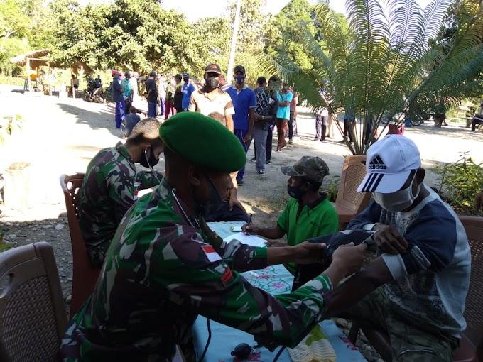 Pos TNI di Belu Cek Kesehatan Puluhan Eks Milisi Timtim dan Siap Latih Fisik Para Mantan Milisi Timor Timur